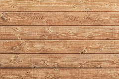 White Pine Planks Hut Wall Surface - Detail. White Pine plank hut wall texture, with wood knots and joint grooves Stock Photo