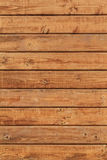 White Pine Planks Hut Wall Surface - Detail Royalty Free Stock Photography