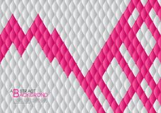 White and pink abstract background vector illustration, cover template layout, business flyer, Leather texture luxury. Can be used in annual report cover design Royalty Free Stock Photography
