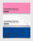 White Pink and blue square geometric texture background  Abstrac. T square geometric texture.banner background web design  for infographics business finance Royalty Free Stock Images
