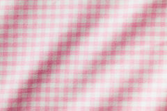 White and pink checkered background Royalty Free Stock Images