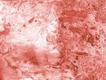 White and pink living coral marble texture. Background stock photo