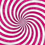 White pink magenta striped swirl spiral pattern Royalty Free Stock Photography