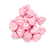 White and pink marshmallow Royalty Free Stock Photo