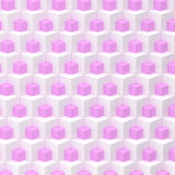 White and pink mesh Royalty Free Stock Images