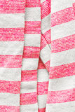 White and pink stripes Stock Photos
