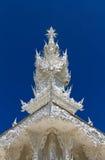 White pinnacle of white temple Royalty Free Stock Image