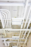 White pipe system Royalty Free Stock Photography