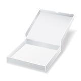 White pizza box Stock Photos