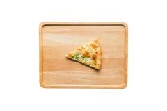 White Pizza , garlic and Mozzarella Cheese Royalty Free Stock Photo