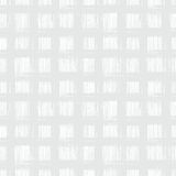 White plaid pattern with hand drawn stripes Stock Photo