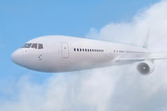 White plane Stock Photos
