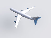 White plane Royalty Free Stock Photos