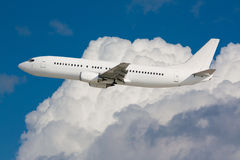 White plane Royalty Free Stock Photography