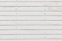 White planks texture. White painted wood house wall background Stock Photos