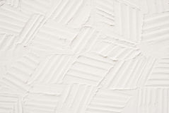 White plaster Royalty Free Stock Image