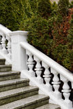 White plaster railings Royalty Free Stock Photo