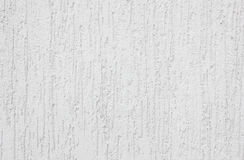 White plaster with stains on the wall texture Royalty Free Stock Photo