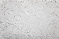 White plaster wall plaster concrete chaotically royalty free stock image