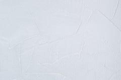White Plaster Wallpaper Royalty Free Stock Photos