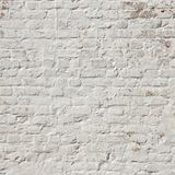 White plastered brick wall Stock Photo