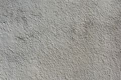 White plastered and painted concrete wall stock photos