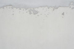 White plastered wall Royalty Free Stock Image