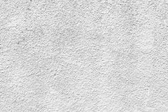 White plastered wall Cement,concrete texture background Royalty Free Stock Photo