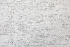 The white plastered wall Royalty Free Stock Image