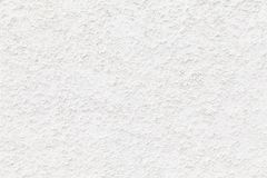 The white plastered wall, closeup Royalty Free Stock Photography
