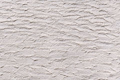 White plasterwork with abstract texture Royalty Free Stock Image