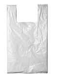 White plastic bag royalty free stock photography