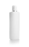 White plastic bottle Royalty Free Stock Images