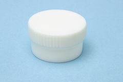 White Plastic Container Royalty Free Stock Photo