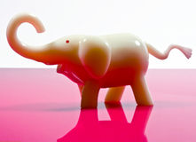 plastic elephant ornament Royalty Free Stock Images