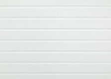 White plastic panel Stock Images