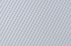 White plastic pattern Royalty Free Stock Photography