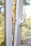 White plastic pvc window Royalty Free Stock Photo