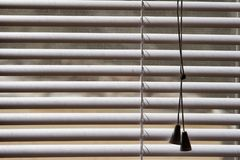 White plastic shades Royalty Free Stock Images