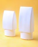 White plastic tube Royalty Free Stock Photo