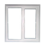 White plastic window Royalty Free Stock Images