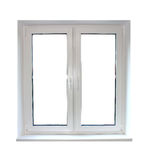 White plastic window Royalty Free Stock Photo