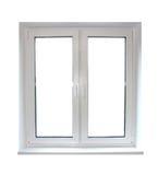 White plastic window Royalty Free Stock Photo