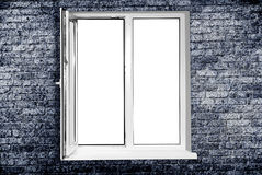 White plastic window Royalty Free Stock Image