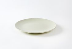 White plate Stock Photos