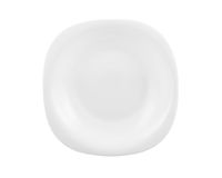 White plate isolated Royalty Free Stock Image