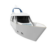 White Pleasure Yacht Stock Photography