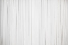 White pleat cloth background Royalty Free Stock Photos