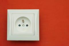 White plug Royalty Free Stock Image