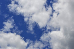 White plumose clouds Royalty Free Stock Photos